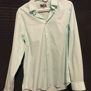 Men's Express Fitted Large Shirt